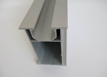 Silver T6 Solar Frames Aluminum Extrusions Profile ISO9001 Certification